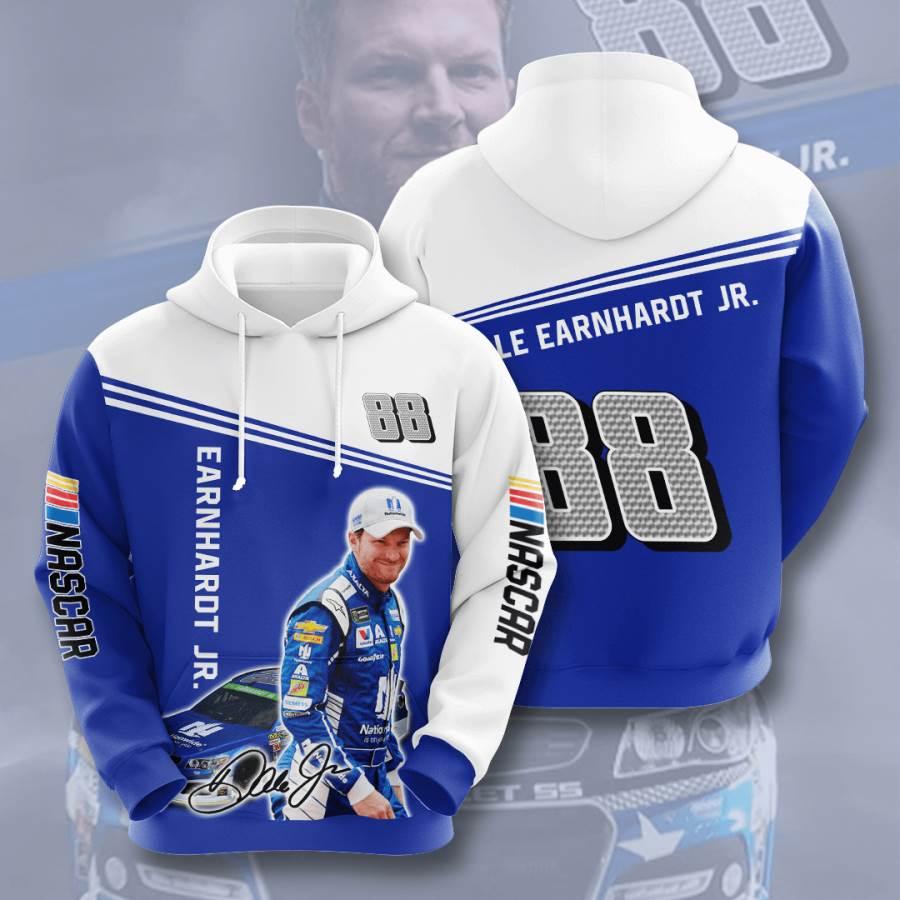 Dale Earnhardt Jr. No500 Custom Hoodie 3D