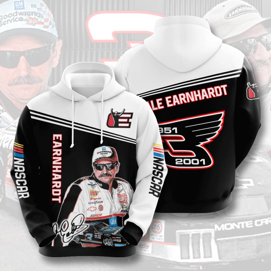 Dale Earnhardt No493 Custom Hoodie 3D