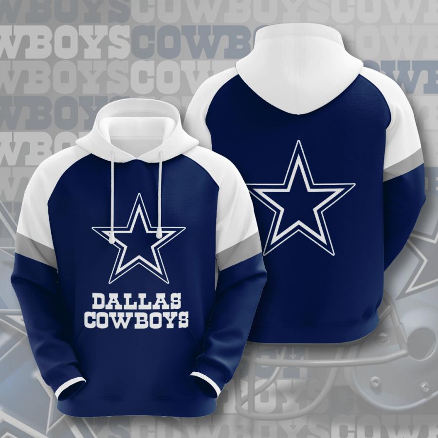Dallas Cowboys No502 Custom Hoodie 3D