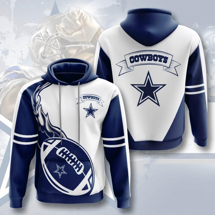 Dallas Cowboys No504 Custom Hoodie 3D