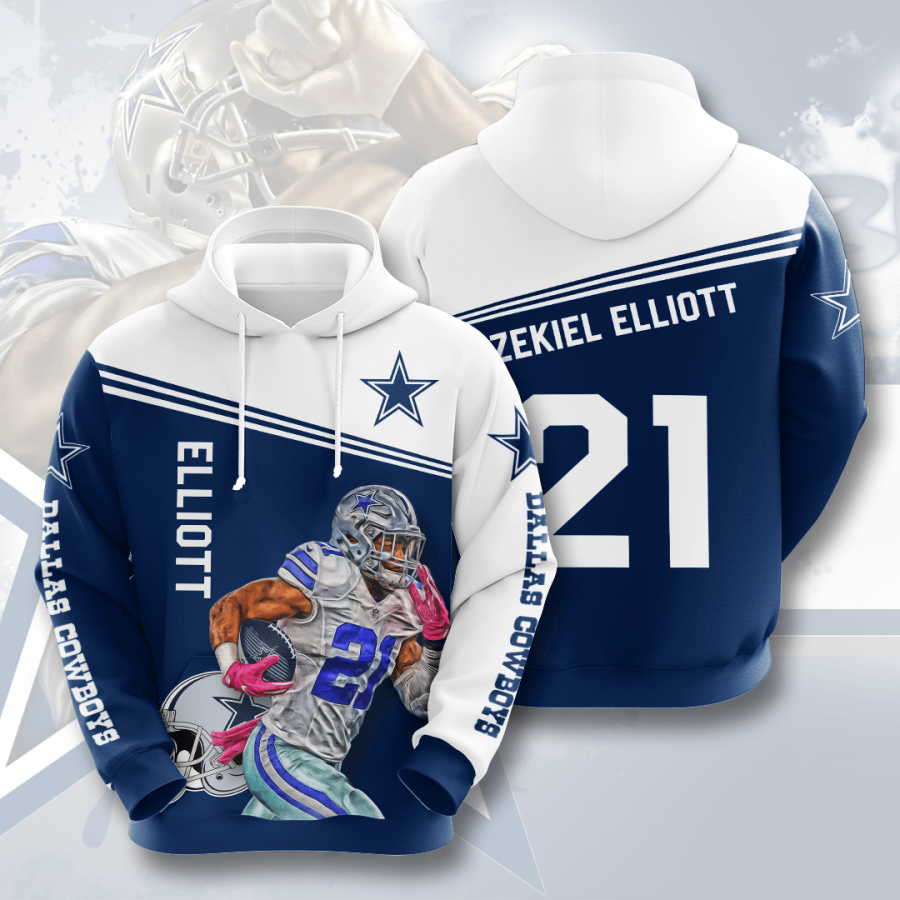 Dallas Cowboys No507 Custom Hoodie 3D