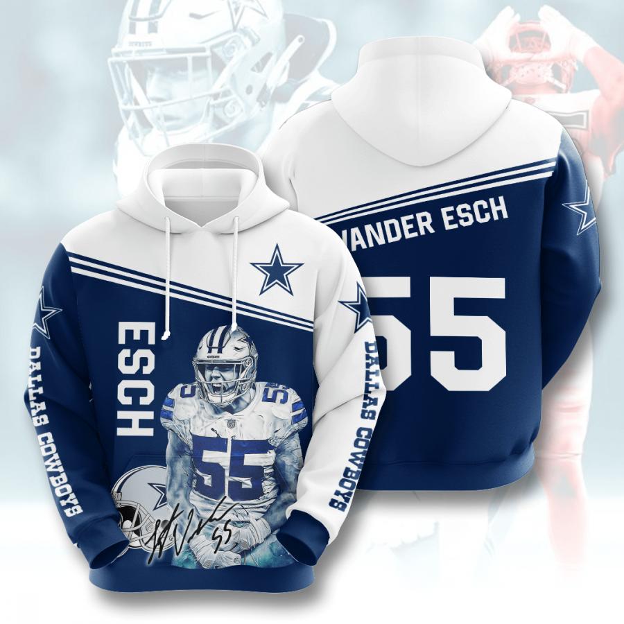 Dallas Cowboys No508 Custom Hoodie 3D