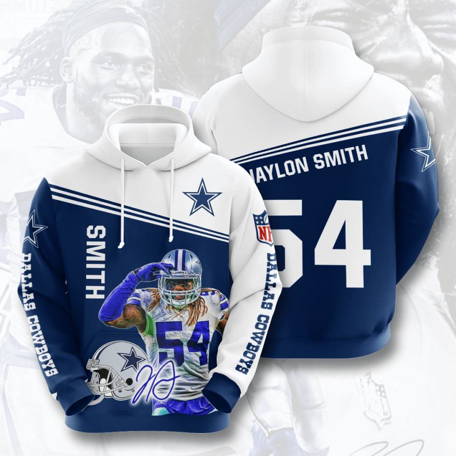 Dallas Cowboys No511 Custom Hoodie 3D