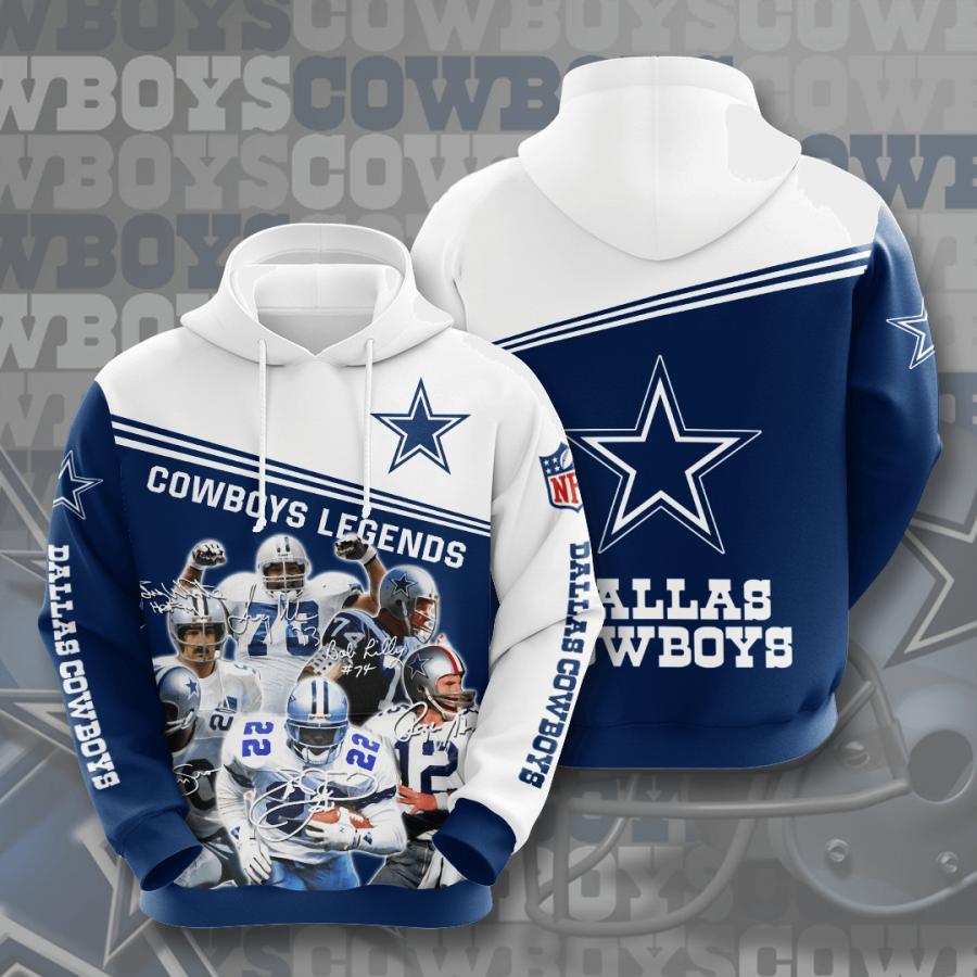 Dallas Cowboys No513 Custom Hoodie 3D