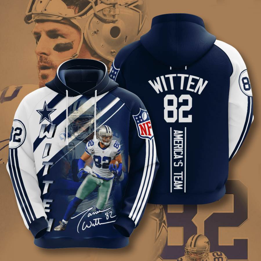 Dallas Cowboys No515 Custom Hoodie 3D