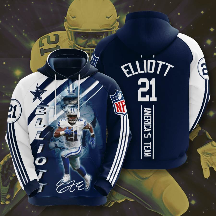 Dallas Cowboys No516 Custom Hoodie 3D