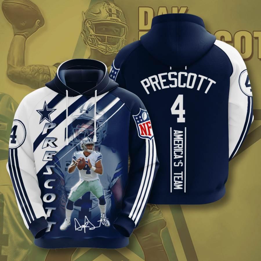 Dallas Cowboys No517 Custom Hoodie 3D
