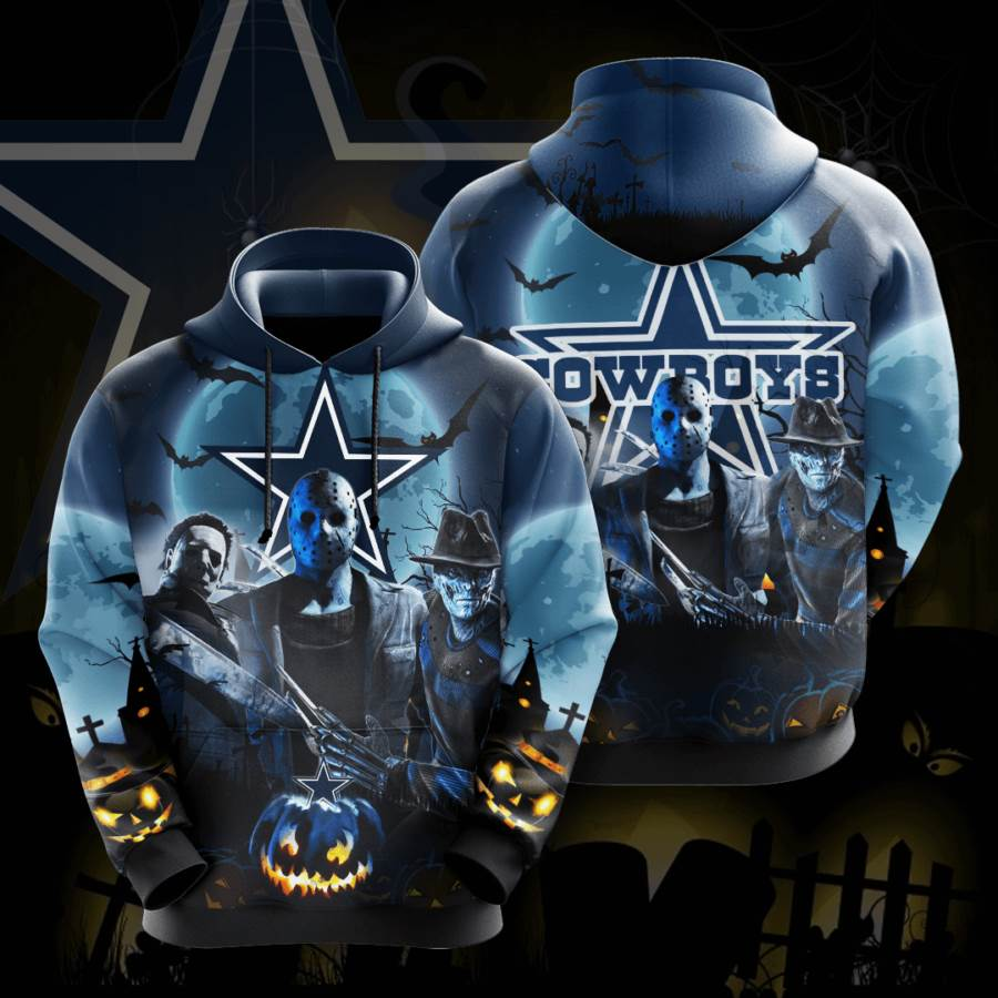 Dallas Cowboys No521 Custom Hoodie 3D