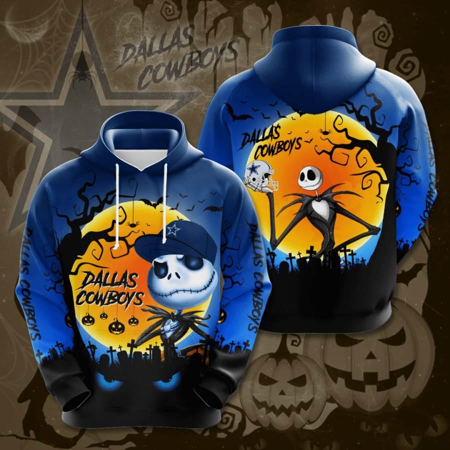 Dallas Cowboys No522 Custom Hoodie 3D