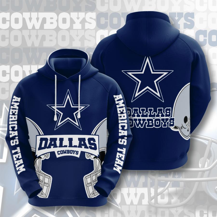 Dallas Cowboys No528 Custom Hoodie 3D