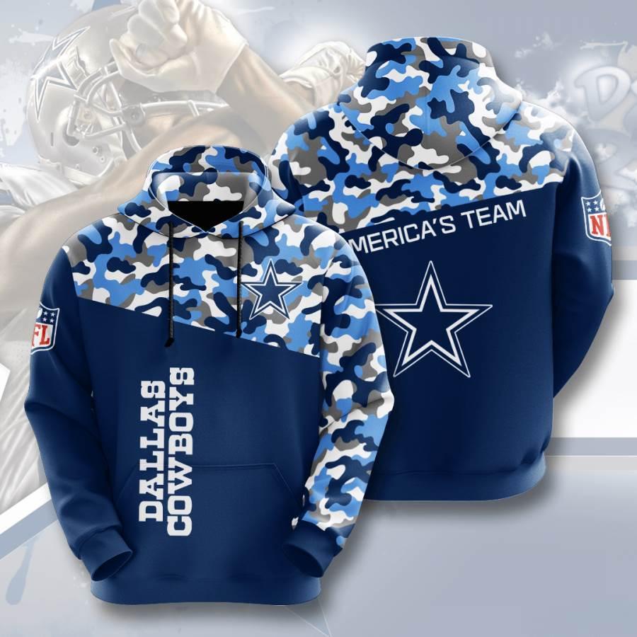 Dallas Cowboys No531 Custom Hoodie 3D