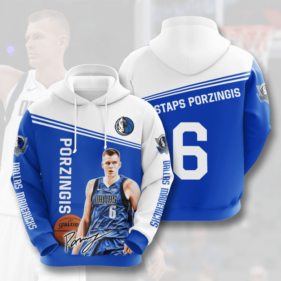 Dallas Mavericks No543 Custom Hoodie 3D