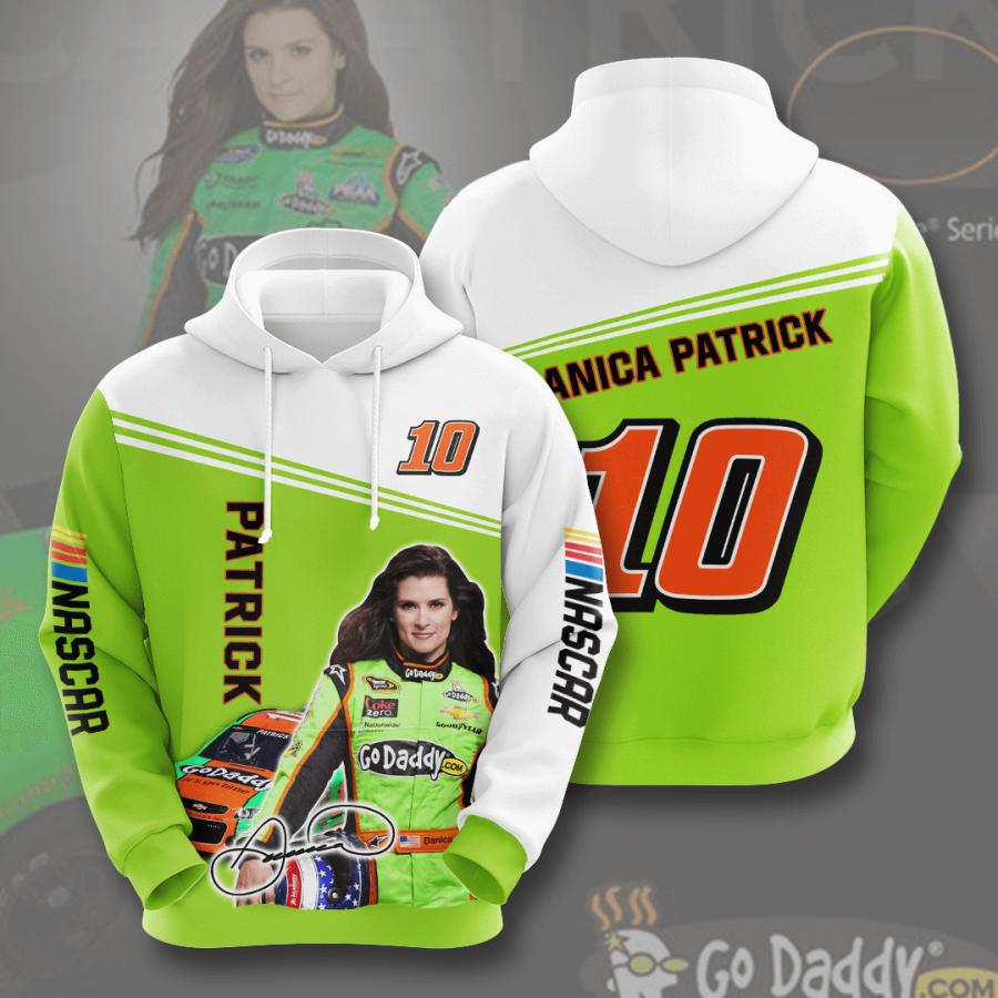 Danica Patrick No547 Custom Hoodie 3D