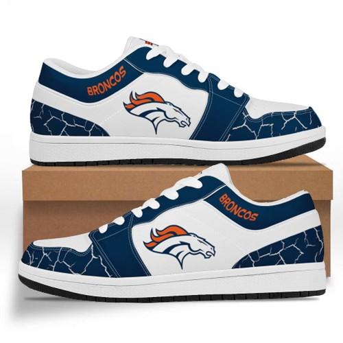 Denver Broncos Casual Shoes Low Top Sneakers