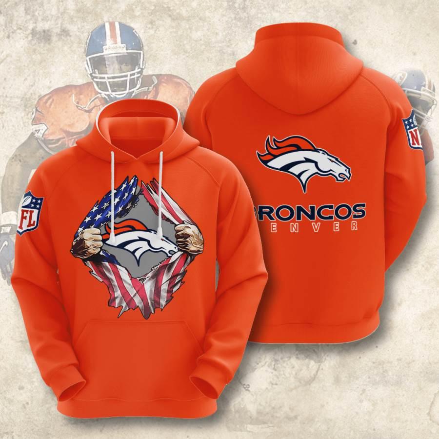Denver Broncos No551 Custom Hoodie 3D