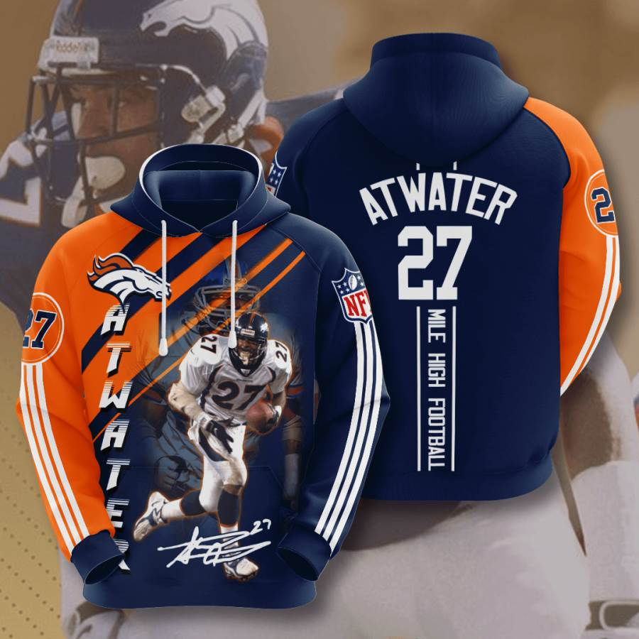 Denver Broncos No557 Custom Hoodie 3D