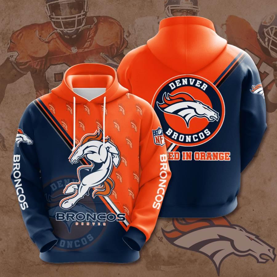 Denver Broncos No559 Custom Hoodie 3D