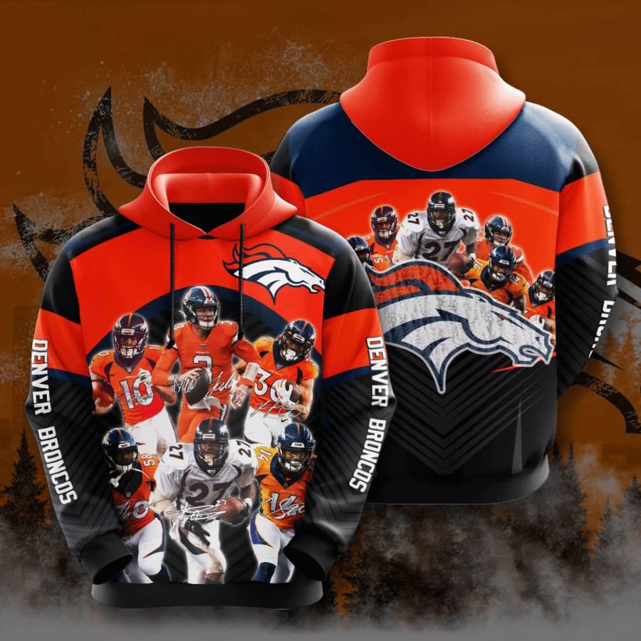 Denver Broncos No560 Custom Hoodie 3D