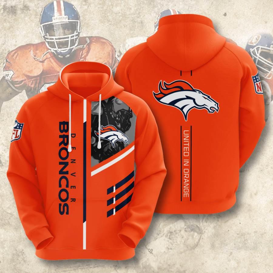 Denver Broncos No561 Custom Hoodie 3D