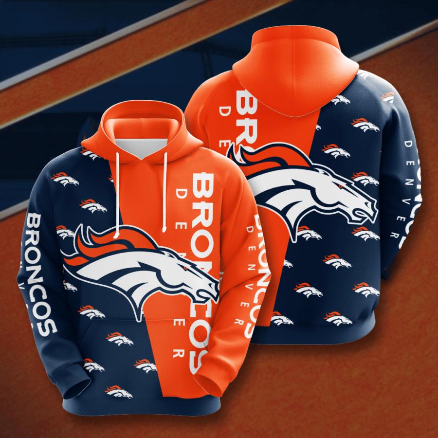 Denver Broncos No562 Custom Hoodie 3D