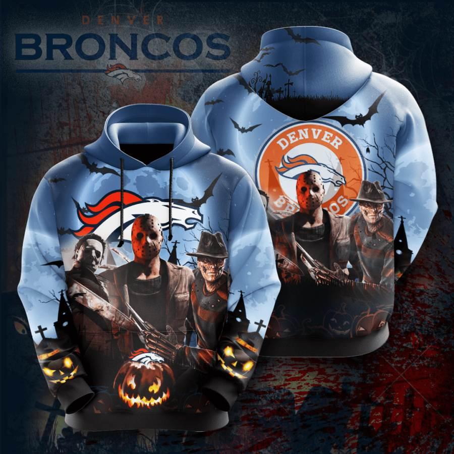Denver Broncos No563 Custom Hoodie 3D