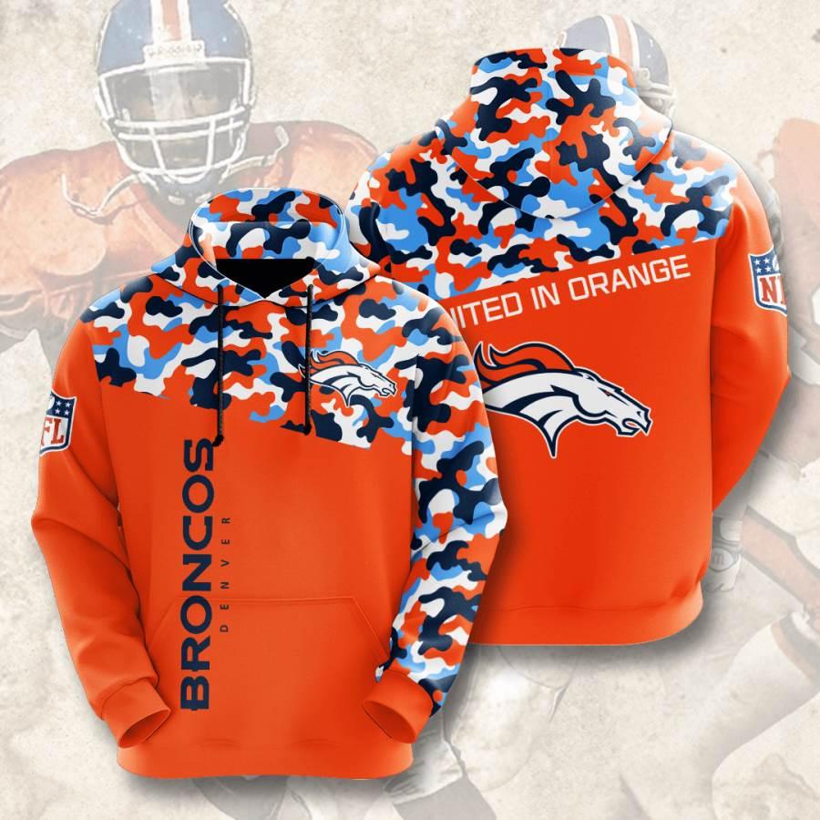 Denver Broncos No564 Custom Hoodie 3D