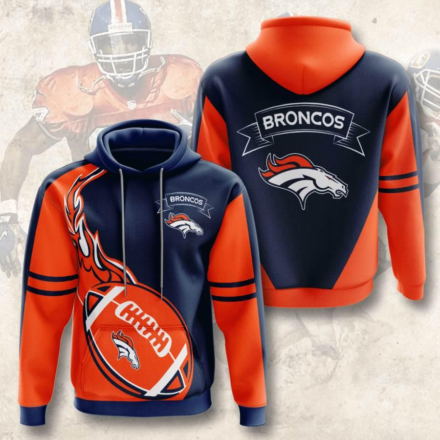 Denver Broncos No565 Custom Hoodie 3D