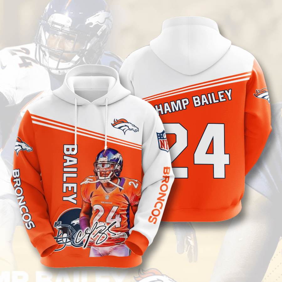 Denver Broncos No568 Custom Hoodie 3D