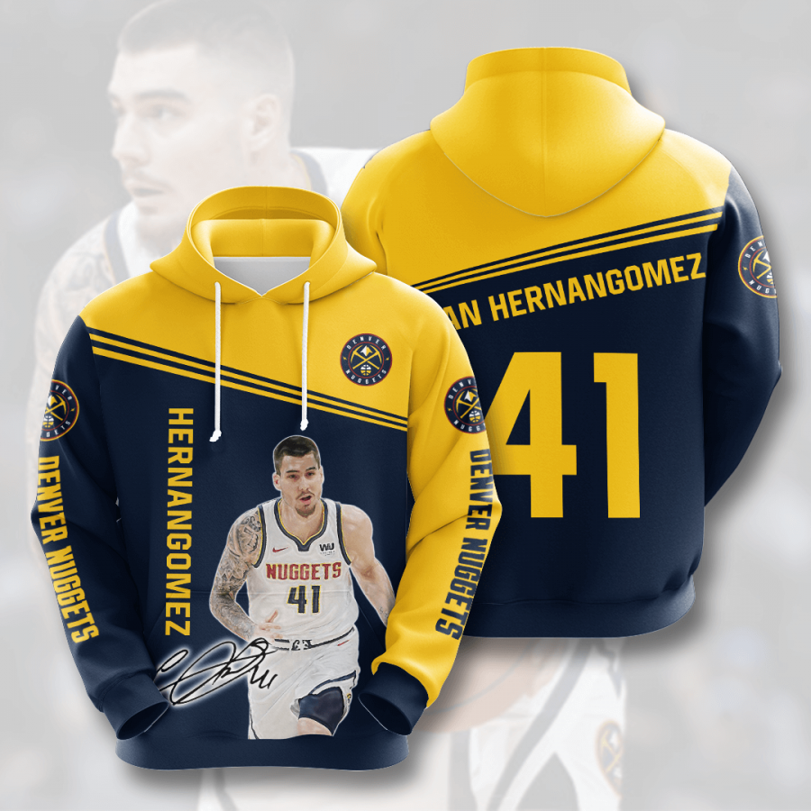 Denver Nuggets No577 Custom Hoodie 3D