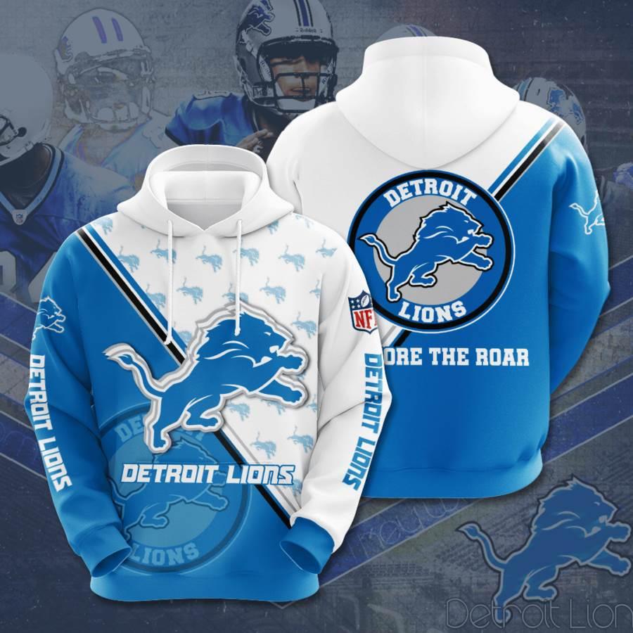 Detroit Lions No589 Custom Hoodie 3D