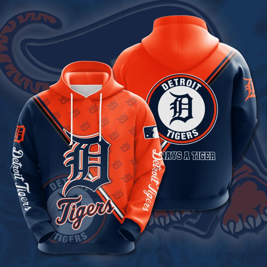 Detroit Tigers No608 Custom Hoodie 3D