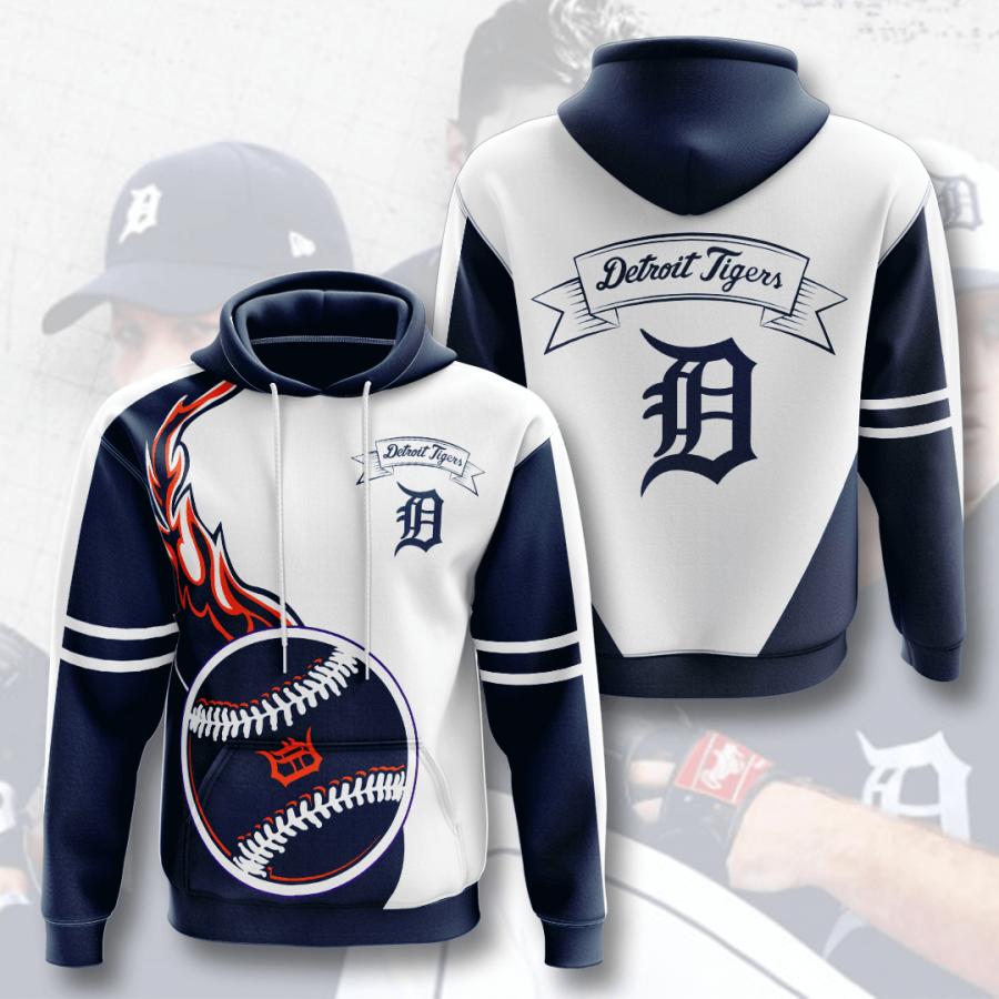 Detroit Tigers No612 Custom Hoodie 3D