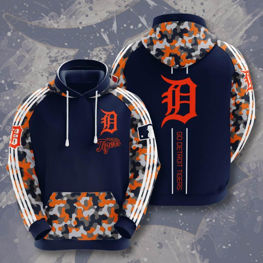 Detroit Tigers No614 Custom Hoodie 3D