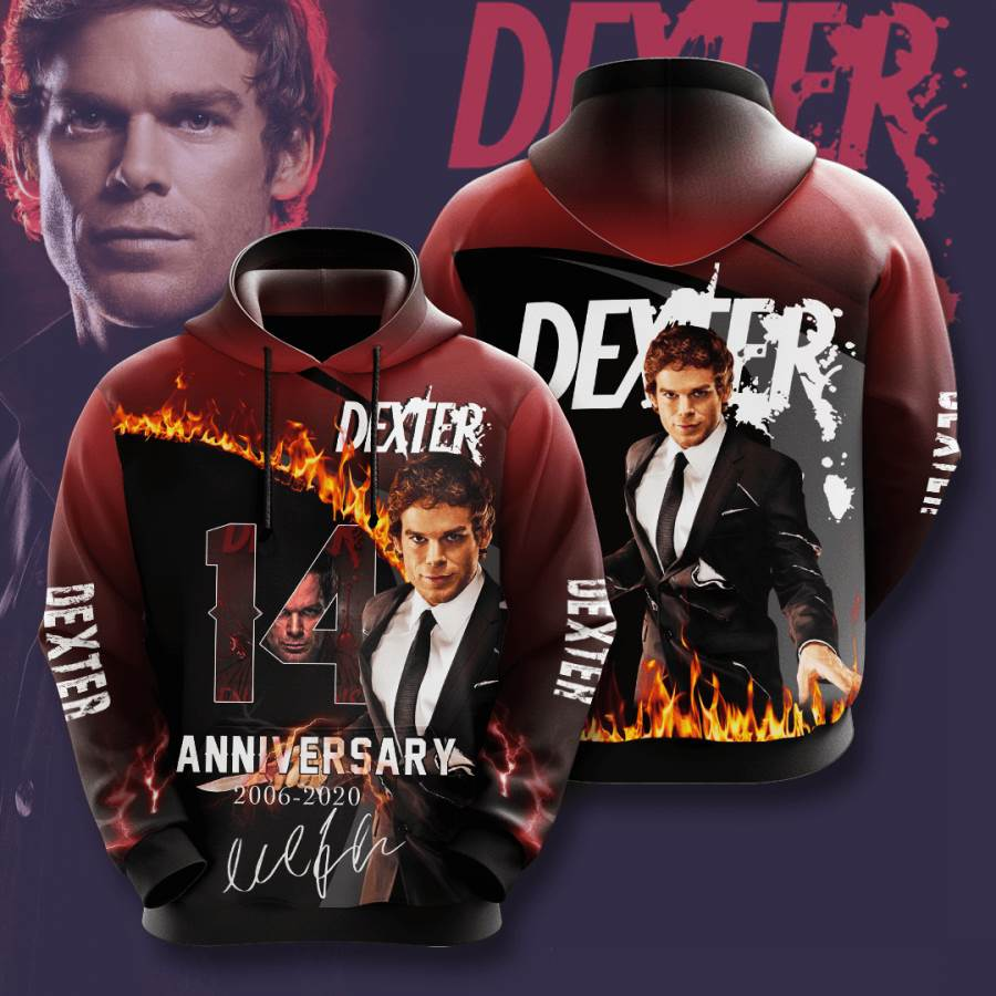 Dexter No620 Custom Hoodie 3D
