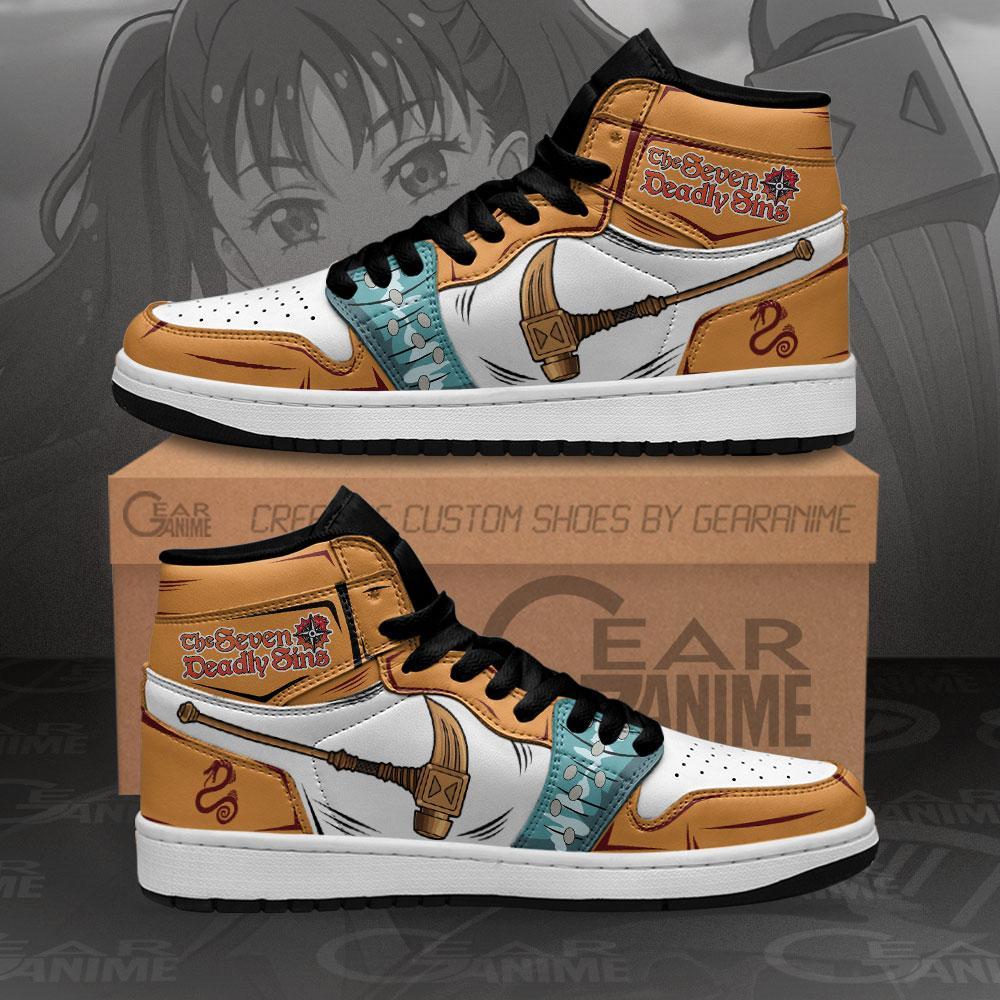 Diane Gideon Sneakers Seven Deadly Sins Anime Air Jordan Shoes