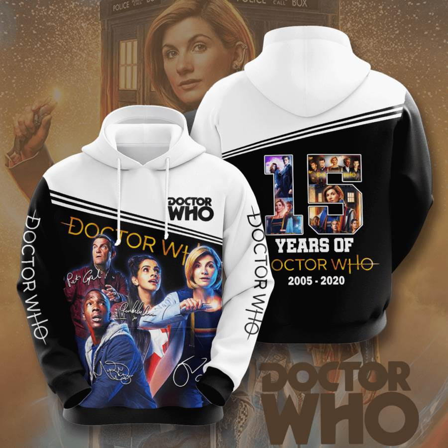 Doctor Who No623 Custom Hoodie 3D