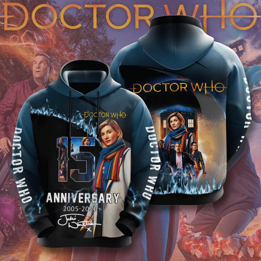 Doctor Who No624 Custom Hoodie 3D
