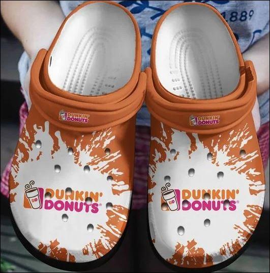 Dunkin� Donuts Crocs Clog Shoes