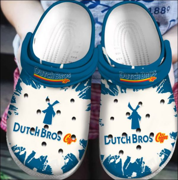 Dutch Bros Coffee Crocs Clog Shoes