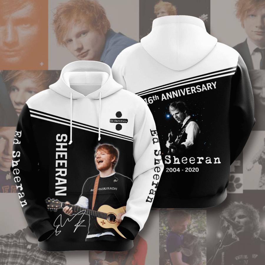 Ed Sheeran No627 Custom Hoodie 3D