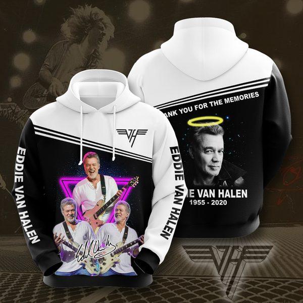 Eddie Van Halen No628 Custom Hoodie 3D