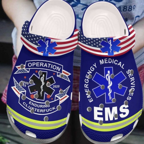 Ems Operation Enduring Clusterfuck Crocs Clog Shoes