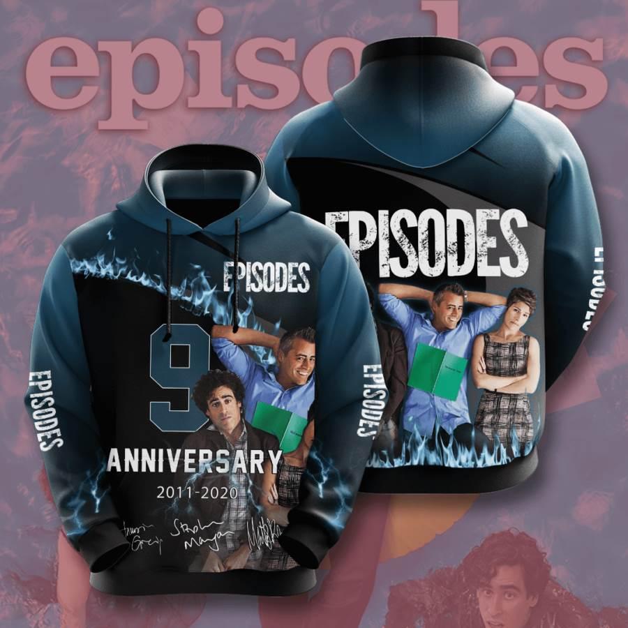 Episodes No637 Custom Hoodie 3D