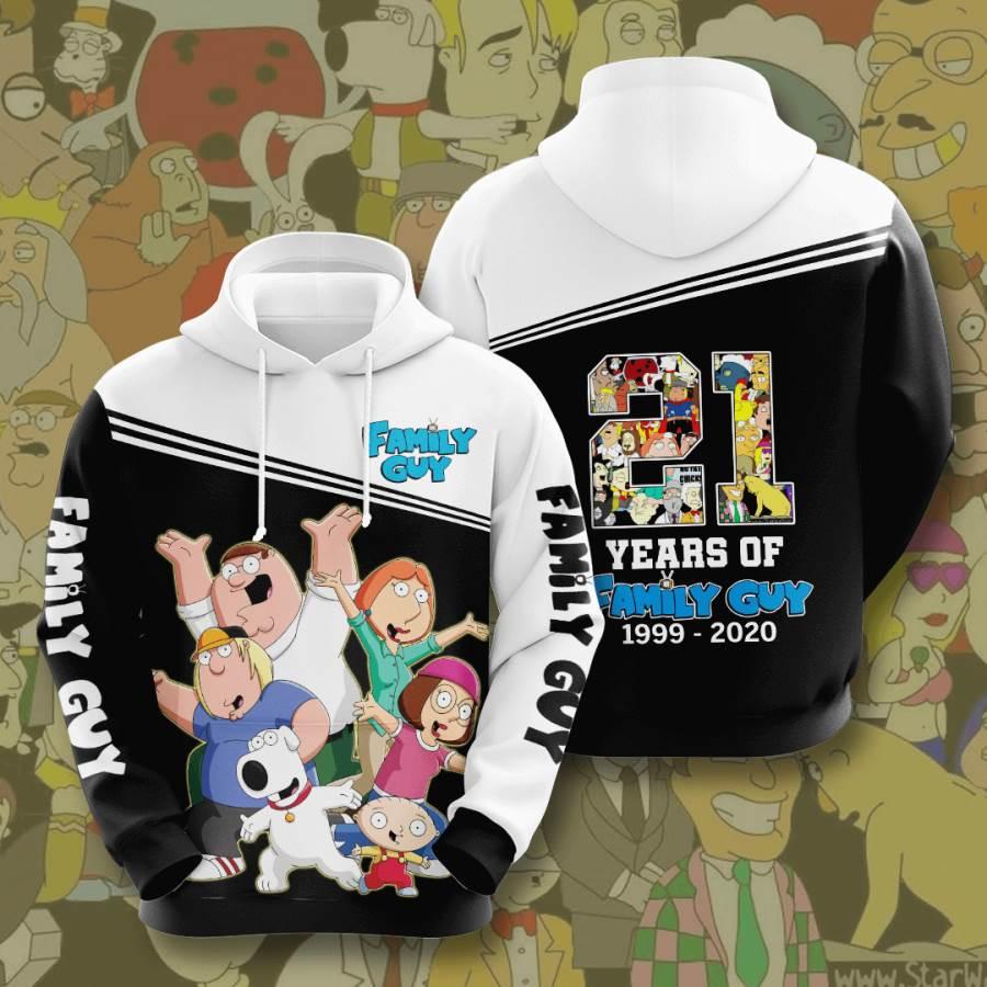 Family Guy No643 Custom Hoodie 3D