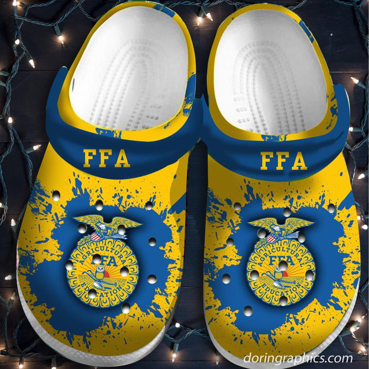 Ffa Agricultural Education Crocs Clog Shoes