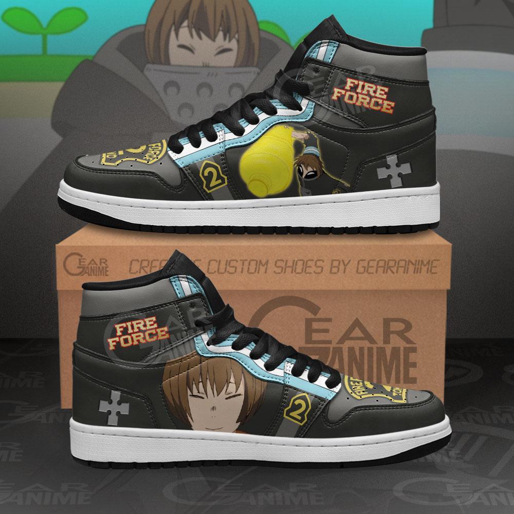 Fire Force Juggernaut Sneakers Custom Anime Air Jordan Shoes