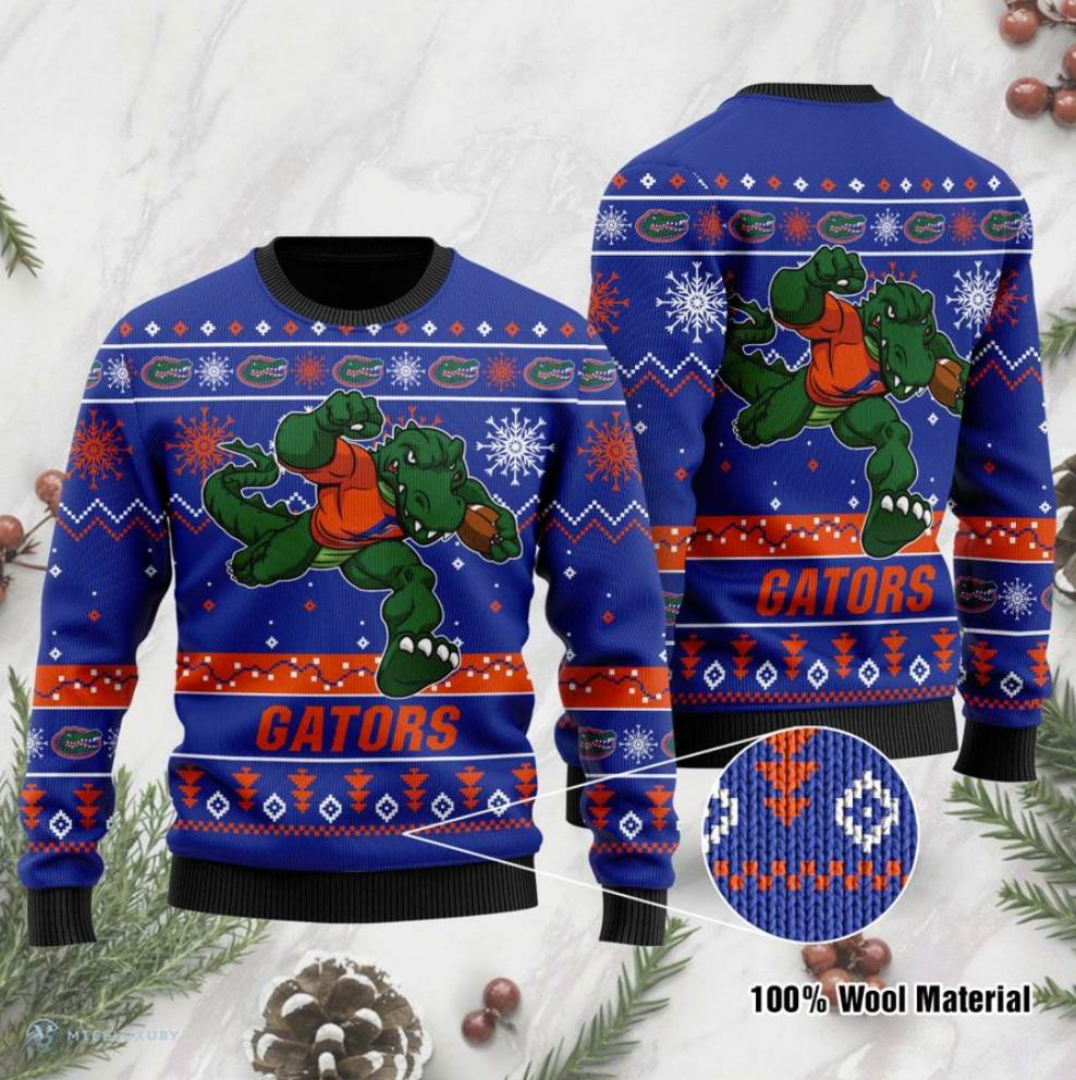 Florida Gators Football Ugly Sweater