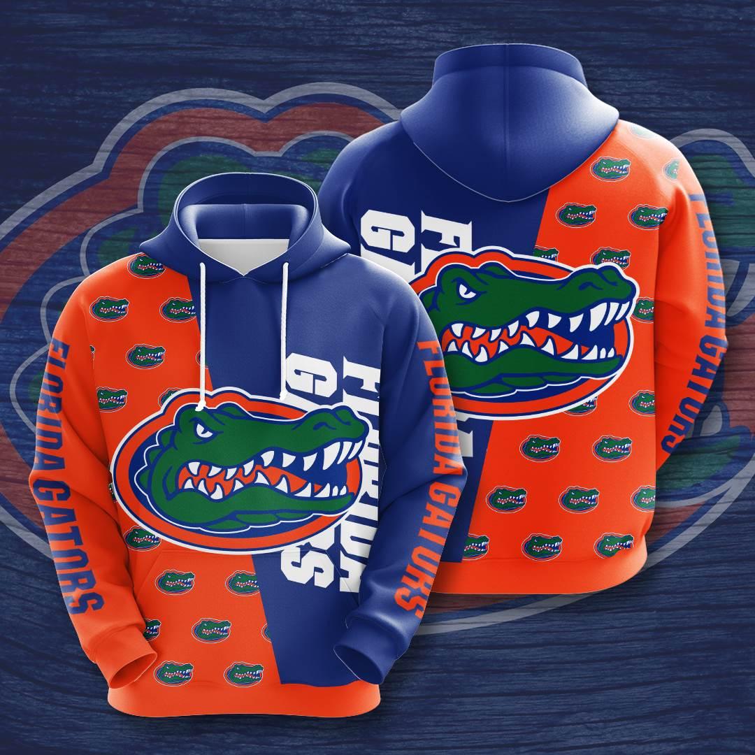 Florida Gators No654 Custom Hoodie 3D