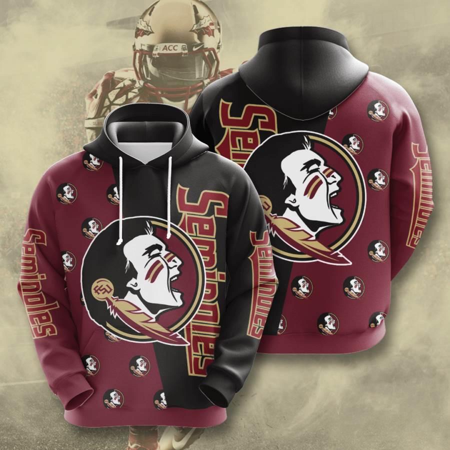 Florida State Seminoles No662 Custom Hoodie 3D