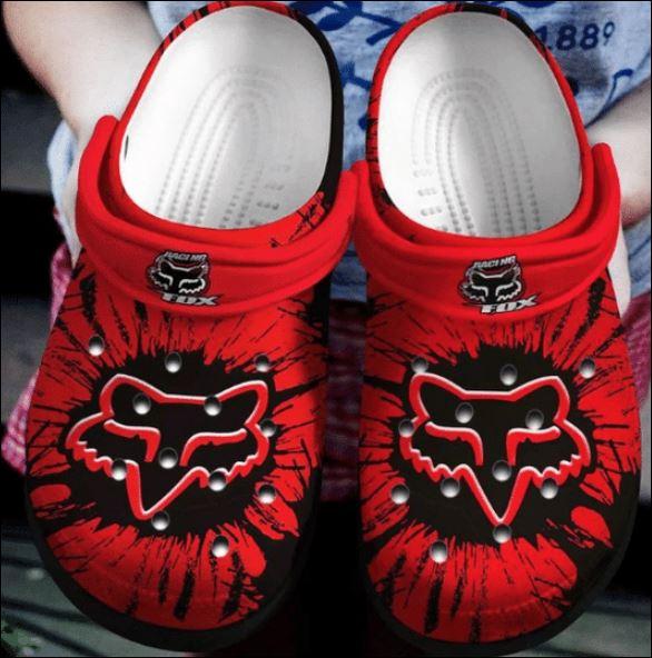 Fox Racing Crocs Clog Shoes